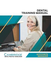Dental Accounts Manager Training Manual