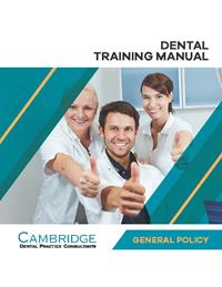 Dental General Policy Training Manual