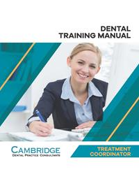 Dental Treatment Coordinator Training Manual