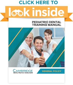 Pediatric Dental Office Manual General Policy