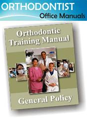 top orthodontic dental office manual packages