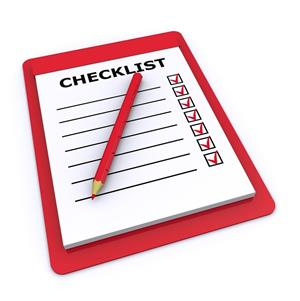 Front Office Checklists