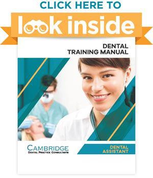 Look Inside Dental Assistant Manual