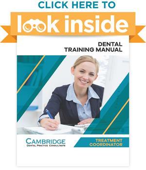 Dental Office Treatment Coordinator Manual Look Inside
